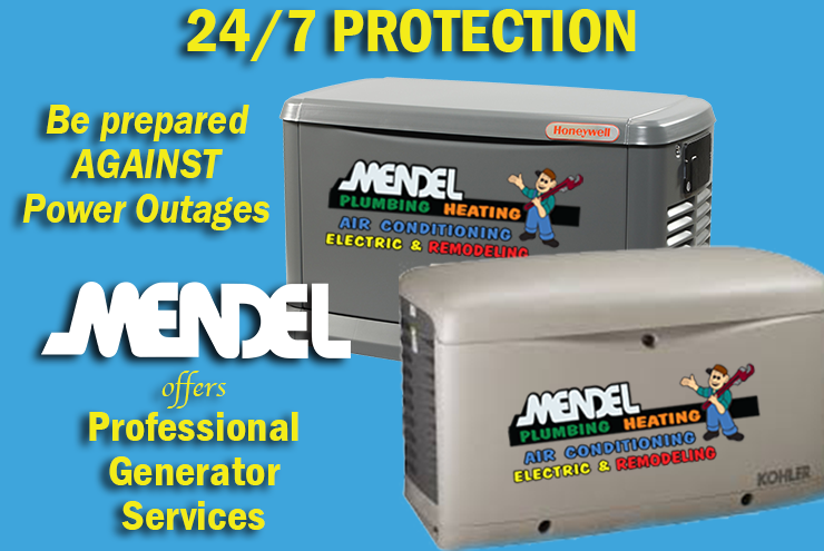 Be Ready for Power Outages with a Standby Home Generator!